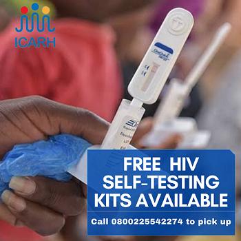 FREE HIV SELF- TESTING KIT