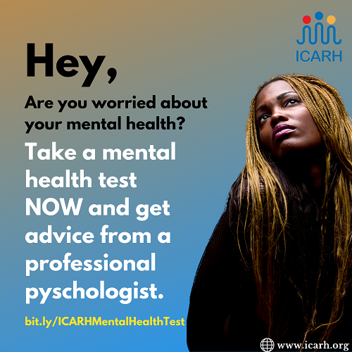 HEY, ARE YOU WORRIED ABOUT YOUR MENTAL HEALTH?